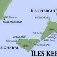 جزر قرقنة