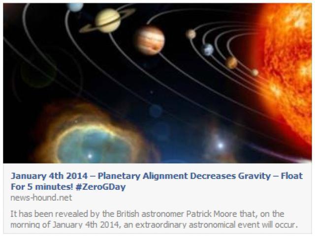 انعدام الجاذبيّة على كوكب الأرض لمدّة 5 ثوان