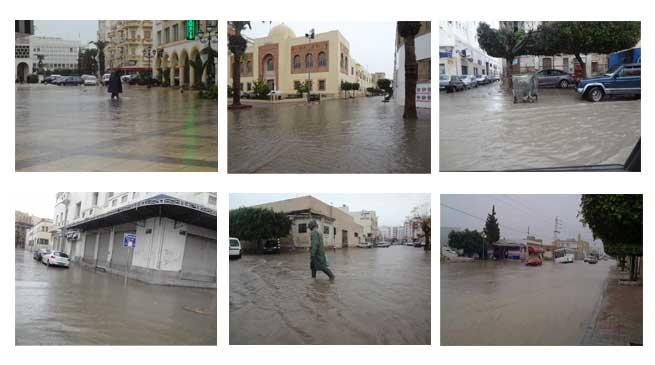 أمطار غزيرة في صفاقس