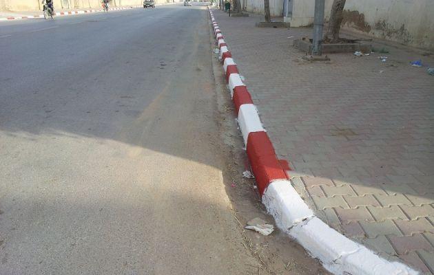طريق قرمدة كم 8 - تجميل مدينة قرمدة