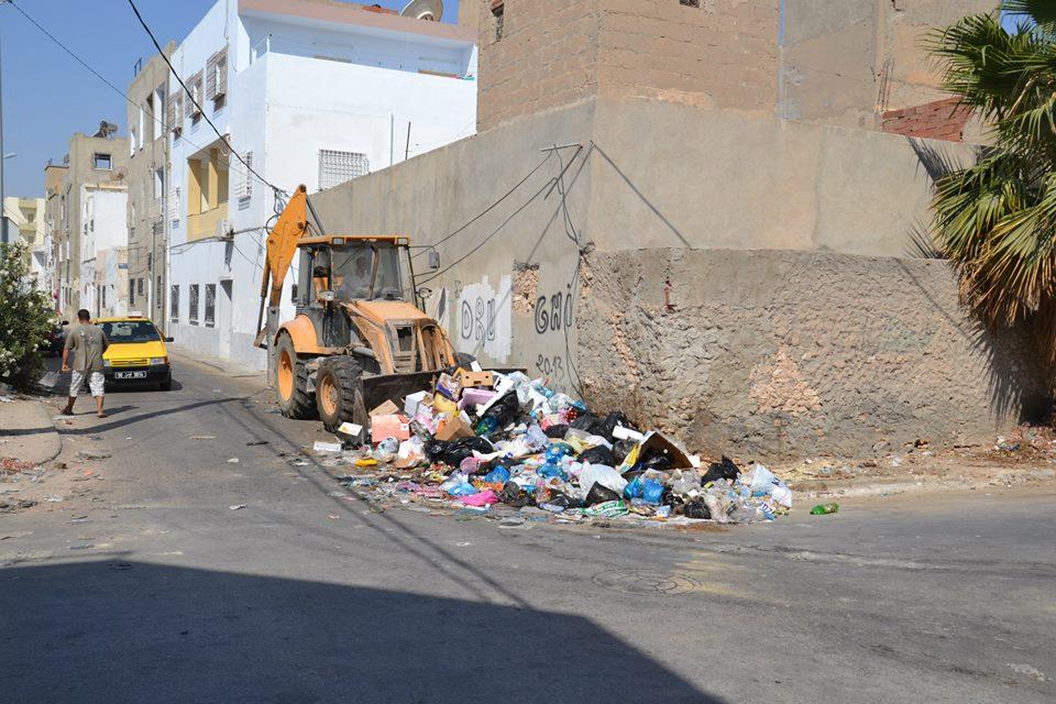 الحملات الاستثنائية للنظافة و العناية بالبيئة بصفاقس