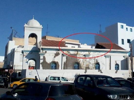 الكنيسة المسيحية الأرثوذكسية - صفاقس انهيار سقف نوفمبر 2012