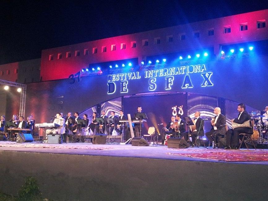 إفتتاح مهرجان صفاقس - زياد غرسة - درصاف حمداني