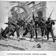 دخول الجنود الفرنسيين مدينة صفاقس