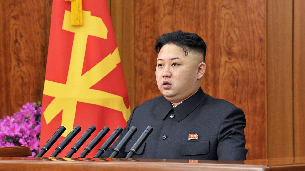 زعيم كوريا الشمالية كيم جونغ أون