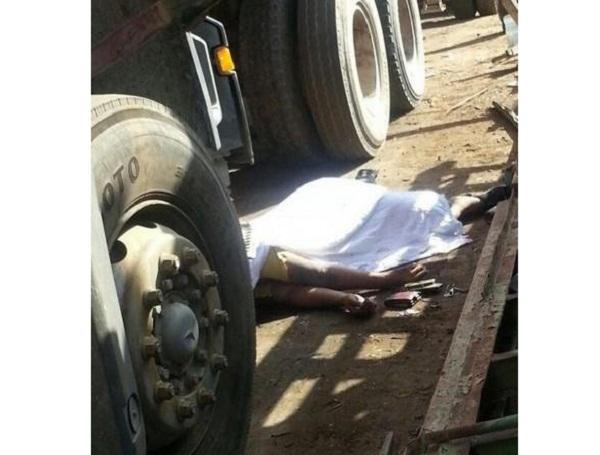 حادث - شاحنة