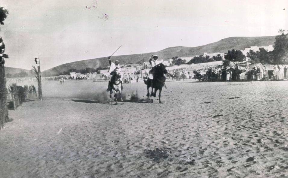 عرض فروسية بريف صفاقس سنة 1942