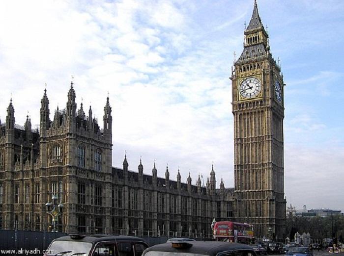 ساعة بيغ بن - لندن - العاصمة البريطانية