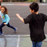 الصنبة من ألعاب الركض عند الأطفال