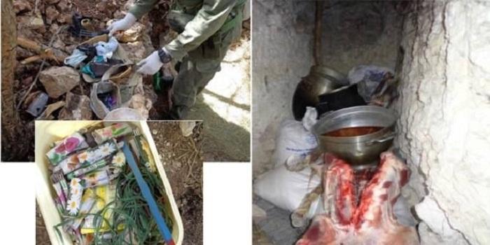 القصرين : مخابئ تحت الأرض وكهف بين الصخور في مخيم للإرهابيين بجبل سمامة