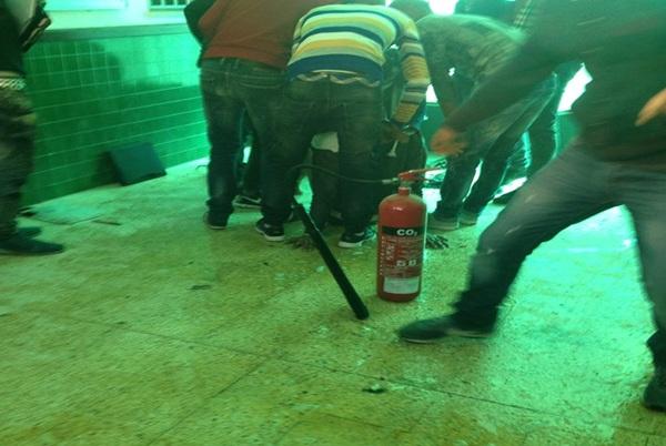 صفاقس : طالب يضرم النار في جسده في كلية الحقوق