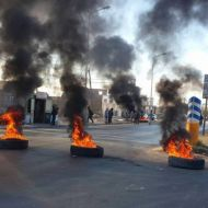 احتجاجات الصخيرة - صفاقس