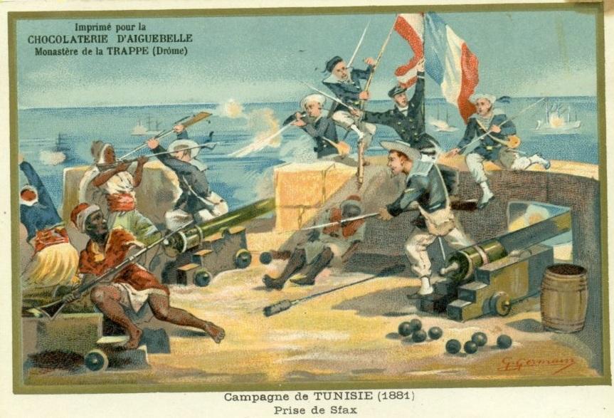 16 جويلية 1881 - يوم سقوط صفاقس - الاحتلال الفرنسي - تونس - المقاومة