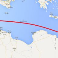 خط بحري بين الاسكندرية وصفاقس
