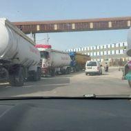 """صفاقس : الشاحنات تغلق طريق """"الكازينو"""""""