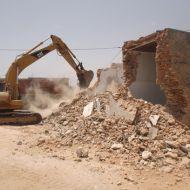 ساقية الدائر: هدم البرج الذي كان يعيق تقدم المشروع البيئي