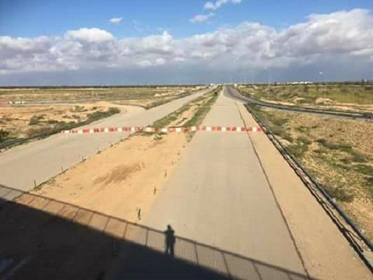 الطريق السيارة صفاقس قابس - البداية مغلقة - ديسمبر 2016