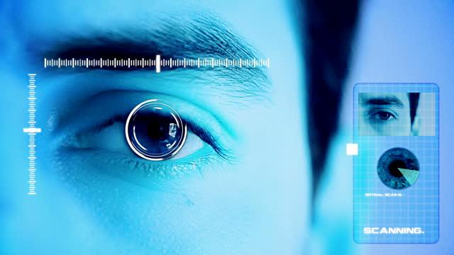 قارئ قزحية العين