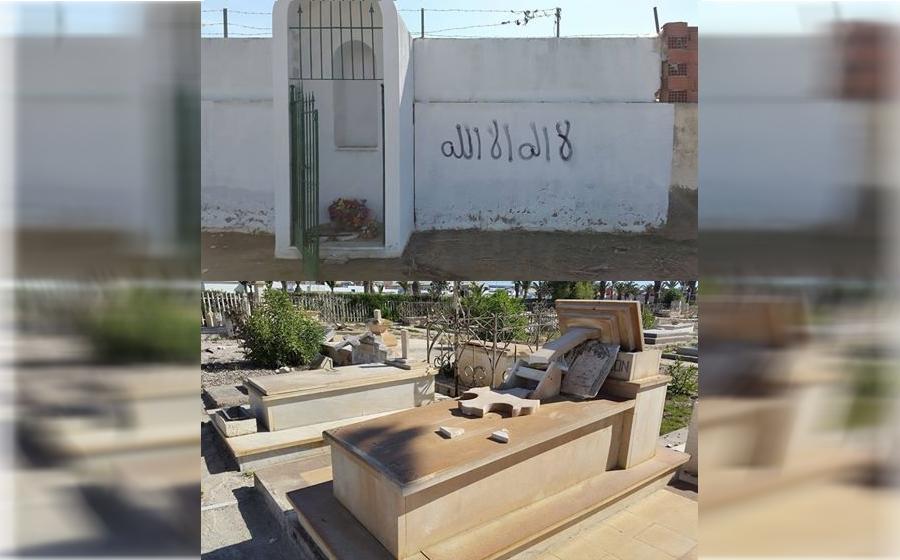 صفاقس - الاعتداء على مقبرة المسيحيين بطريق قابس