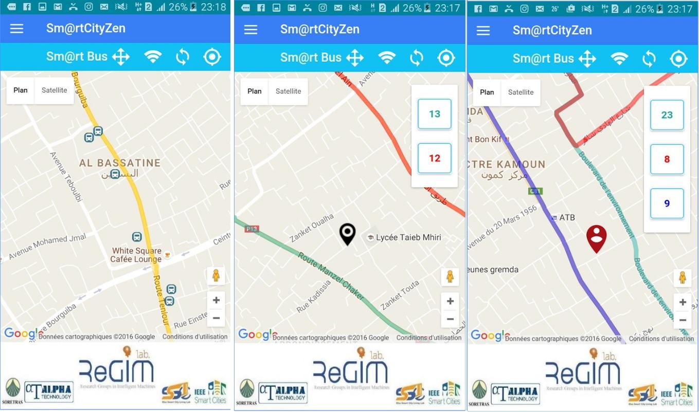الأولى من نوعها في تونس - صفاقس : السورتراس تطلق تطبيق Sm@rt Cityzen لمعرفة توقيت أقرب حافلة