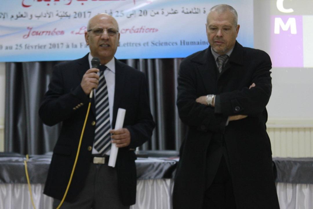كلية الاداب والعلوم الانسانية بصفاقس - محمد بن عياد - محمد الجربي
