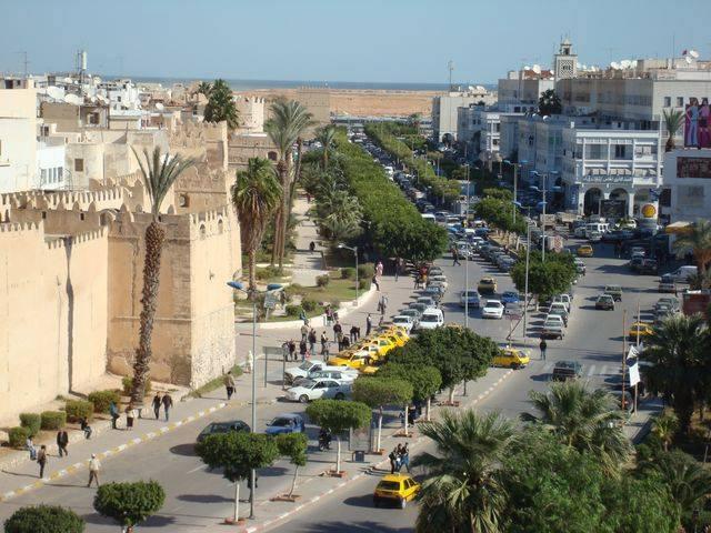 باب بحر - صفاقس - صور مدينة صفاقس - شارع علي بلهوان