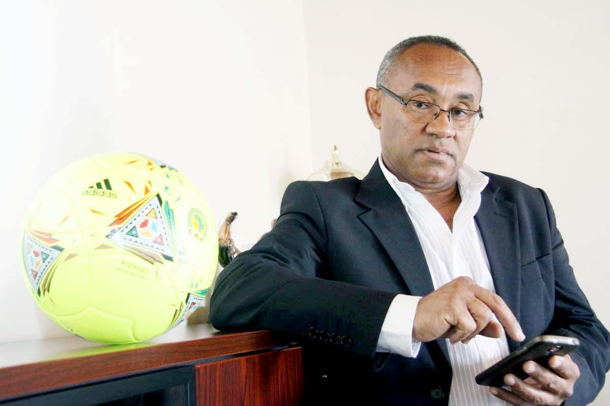 أحمد أحمد - الاتحاد الافريقى لكرة القدم