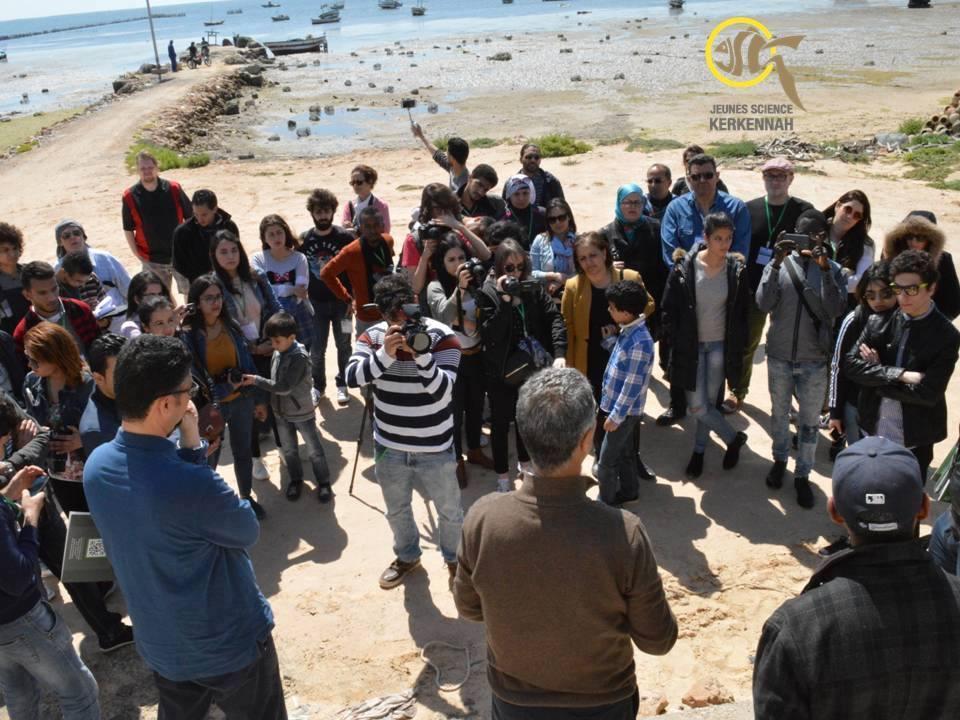 بالصور : المجتمع المدني بقرقنة يقوم بإستقبال شباب من البرازيل وفرنسا ولبنان