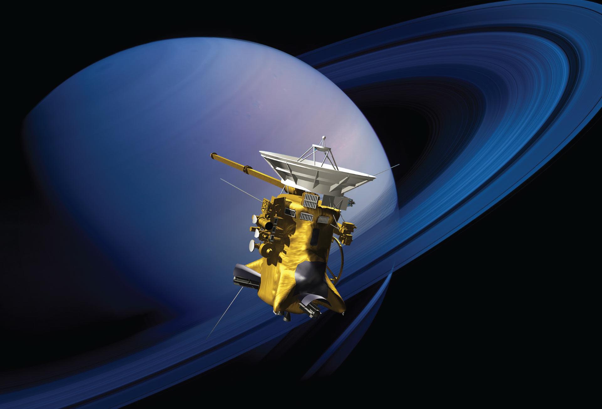 المسبار كاسيني - كوكب زحل