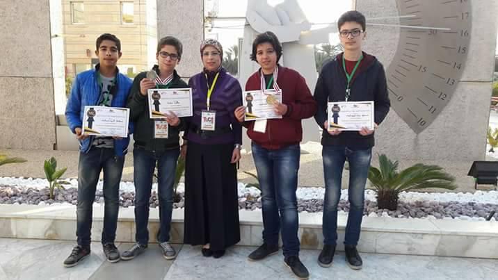 تلاميذ المدرسة الاعدادية النموذجية بصفاقس يحرزون المراتب الأولى وطنياً في المسابقة الوطنية للبرمجة