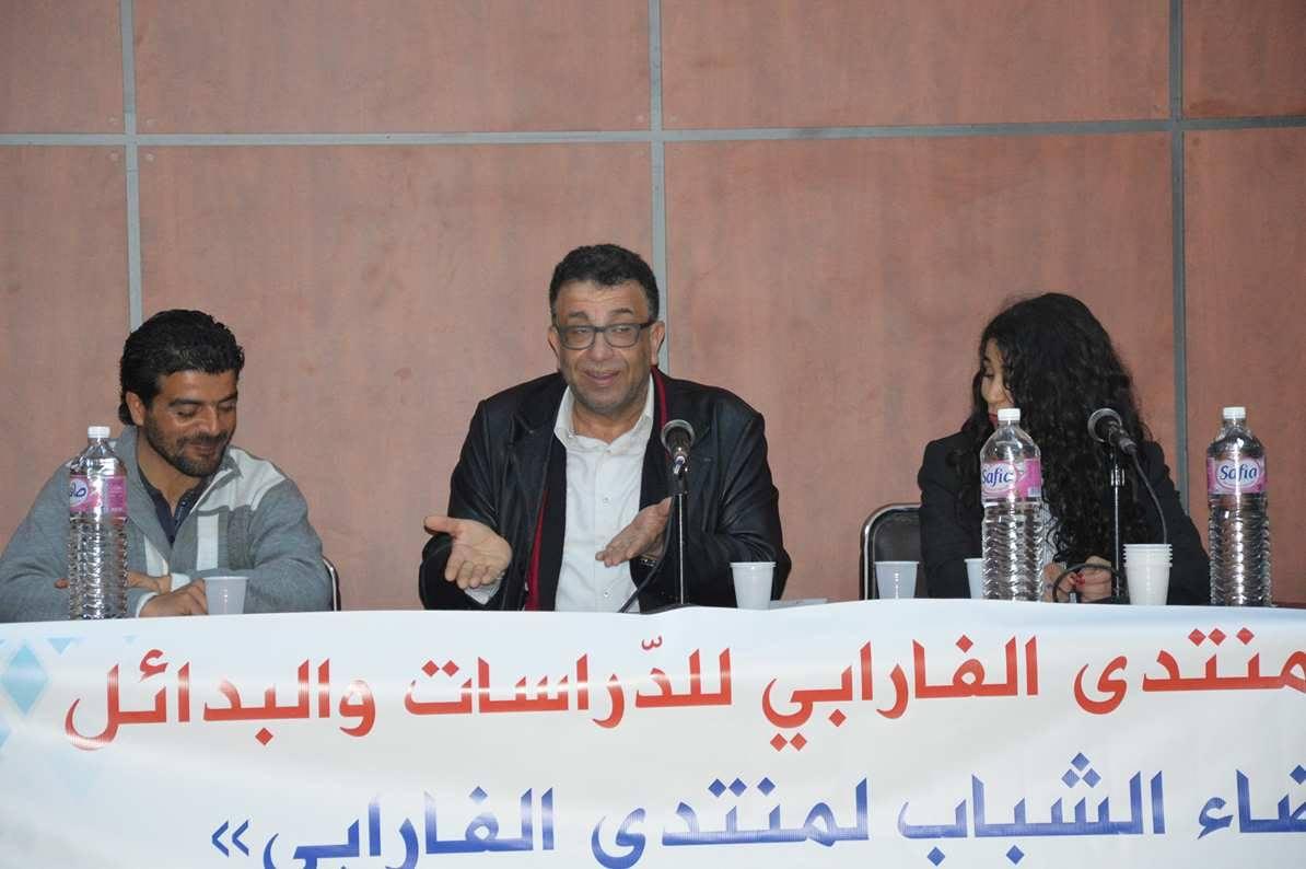 """منتدى الفارابي للدراسات والبدائل - يوم الأرض - السياسي و الكاتب والروائي الفلسطيني """" مروان عبد العال """""""