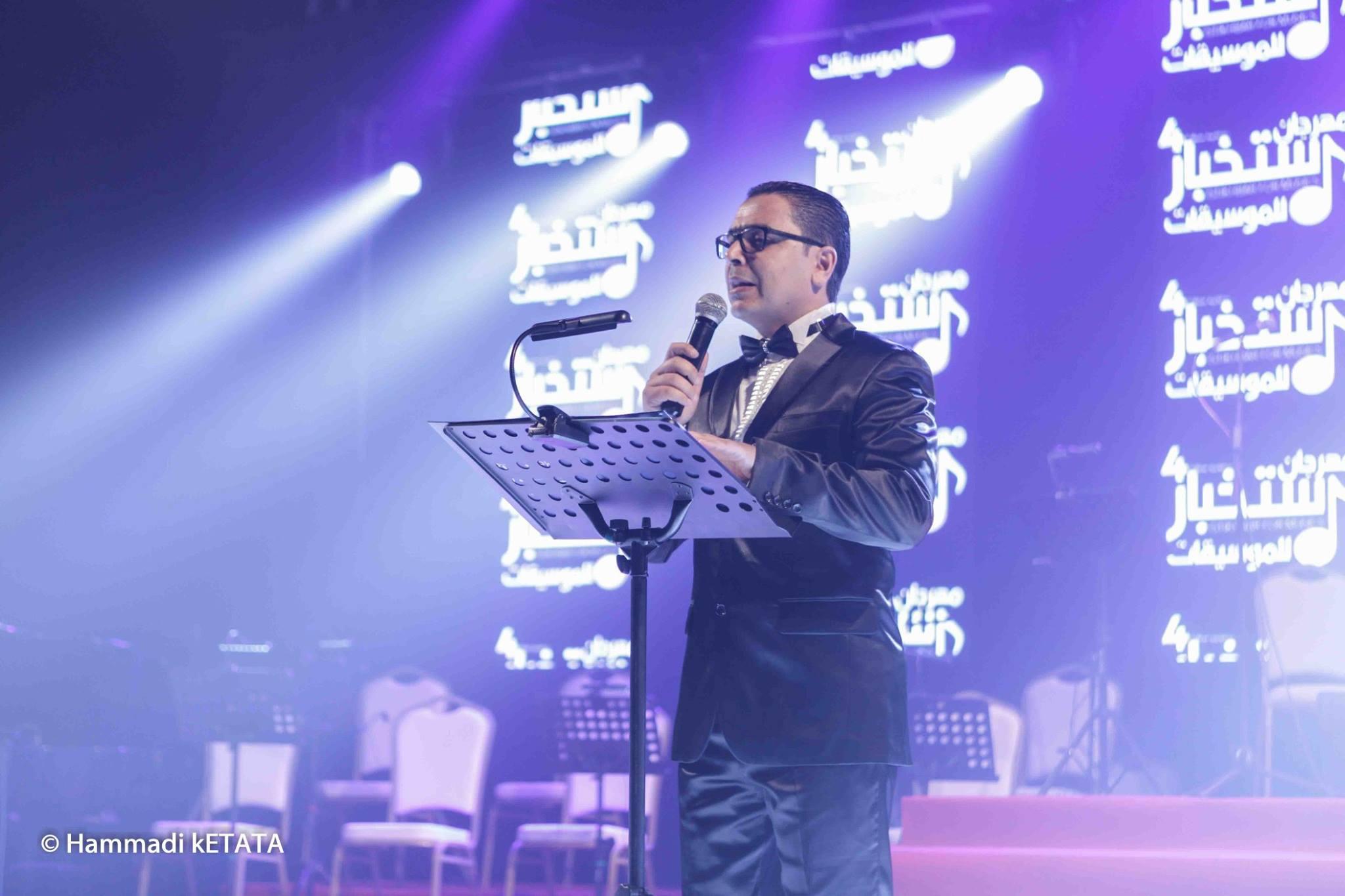 نبيل بوذينة مدير مهرجان استخبار للموسيقات