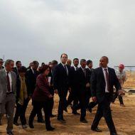 يوسف الشاهد يزور مكان المستشفى الجديد بصفاقس يوسف الشاهد يزور مكان المستشفى الجديد بصفاقس