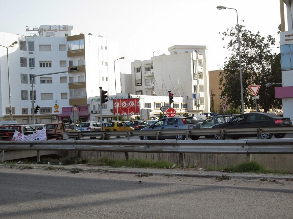القناة الحزامية - حزام بورقيبة - صفاقس