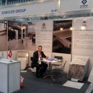"""مشاركة متميزة لـ """"سوموسار"""" في صالون البناء الدولي في قطر"""