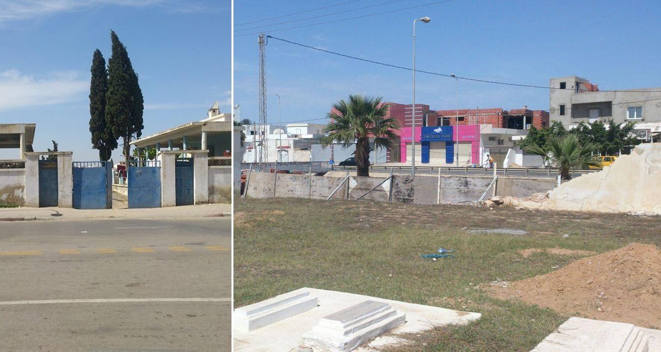 صفاقس : المقبرة البلدية بطريق المطار كم 2.5 تعاني من الإهمال