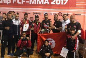 روسيا : نادي محيط القرقنة يفوز بالبطولة العالمية في رياضة الفول كونتاكت للفنون القتالية