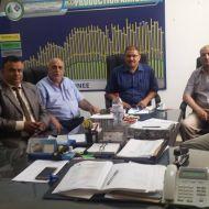 جلسة عمل في مقر المجمع الكيميائي التونسي حول المساهمة في تجميل مدينة صفاقس
