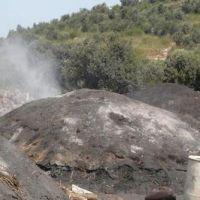 منشر فحم - مردومة - صناعة الفحم النباتي