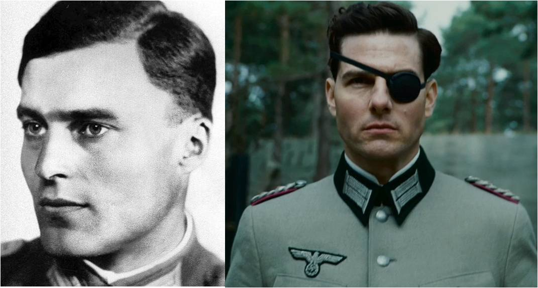 الضابط كلاوس قام بتمثيل دوره طوم كروز في أحد الافلام
