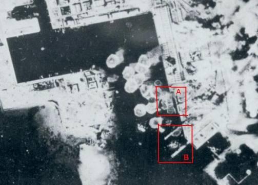 صورة جوية لقصف ميناء صفاقس