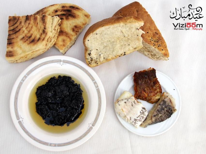 الشرمولة والحوت المالح - عيد الفطر - صفاقس