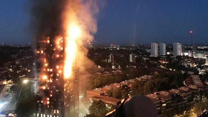 حريق عمارة