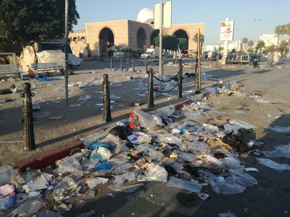 صفاقس - الإنتصاب الفوضوي - العيد - فضلات - تشويه جمالية المدينة