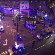 قتلى بعملية دهس إستهدفت مصلين خارجين من مسجد بلندن