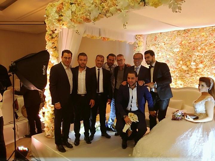 حفل زفاف لاعب النادي الصفاقسي حمزة المثلوثي