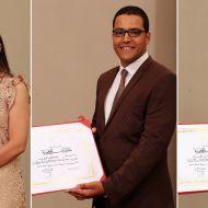 طلبة صفاقس يتحصلون على جائزة رئيس الجمهورية - رحاب الغراد - حكيم عمري - مروى ناجي