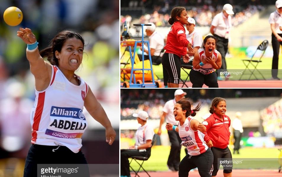 إبنة صفاقس والحزق : التونسية ريما العبدلي تتوج الميدالية الذهبية في بطولة العالم لذوي الإحتياجات الخصوصية بلندن
