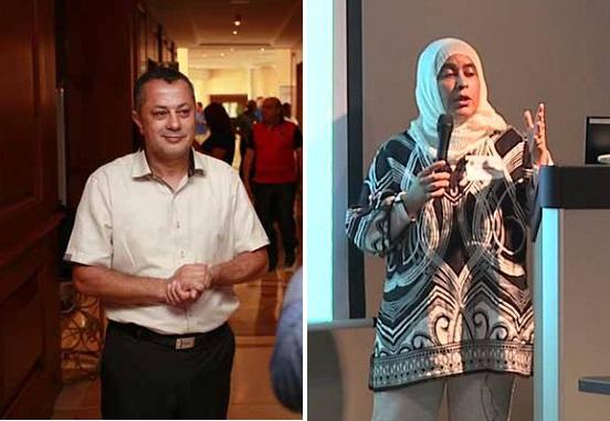 الاستاذة سعاد رويس - الاستاذ سليم التونسي - مركز البيوتكنولوجيا بصفاقس