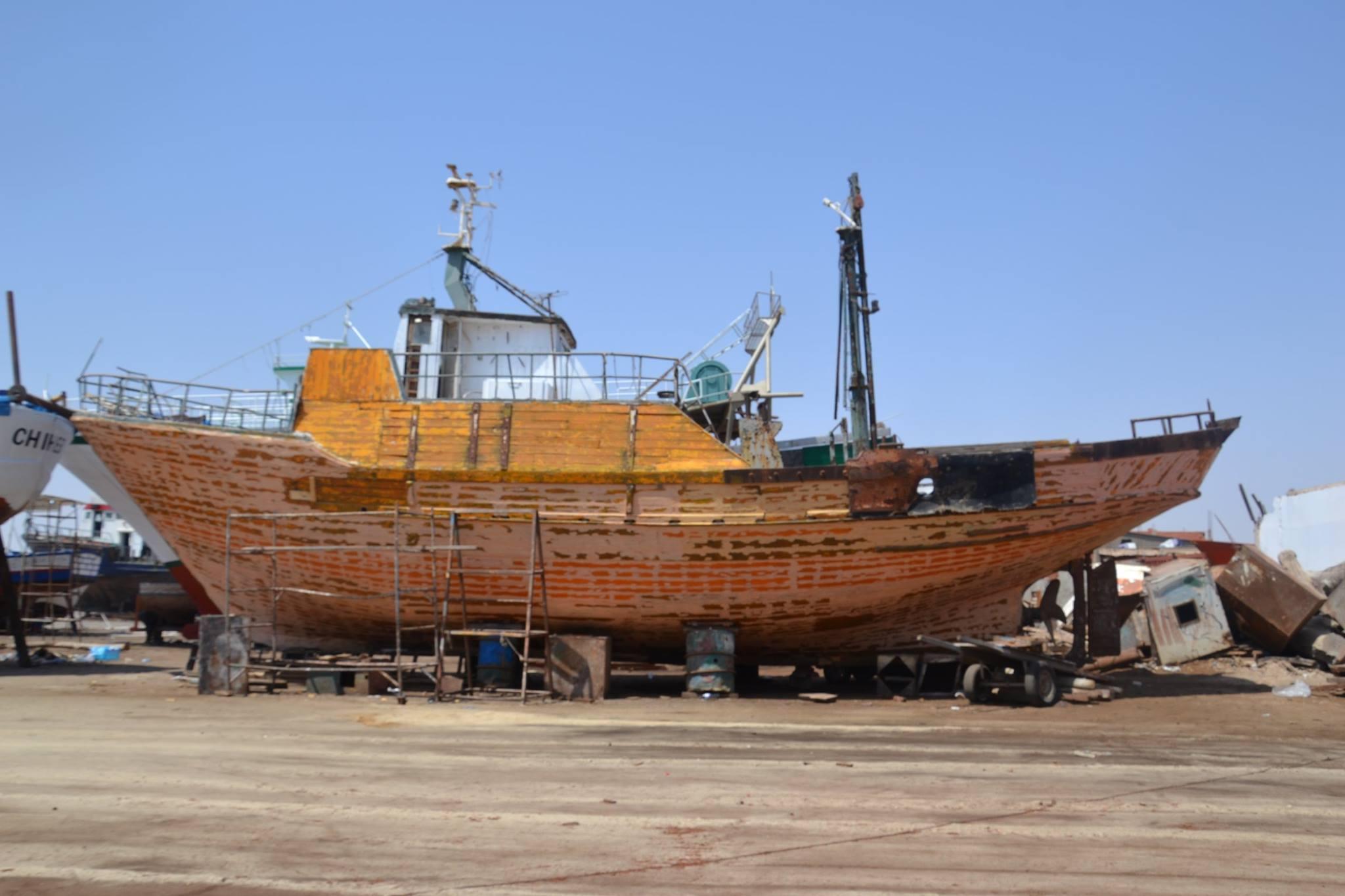 صفاقس : السفينة القديمة التي ستزيّن مفترق طريق سيدي منصور